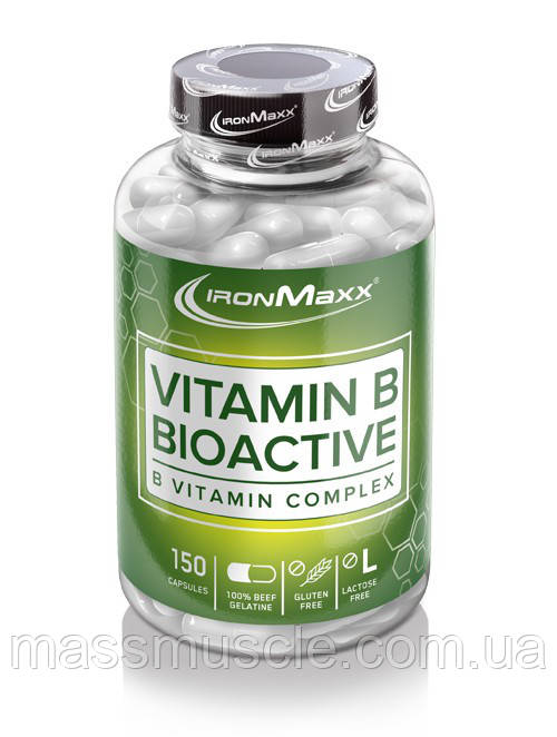 Витамины IronMaxx Vitamin B Bioactive 150 caps