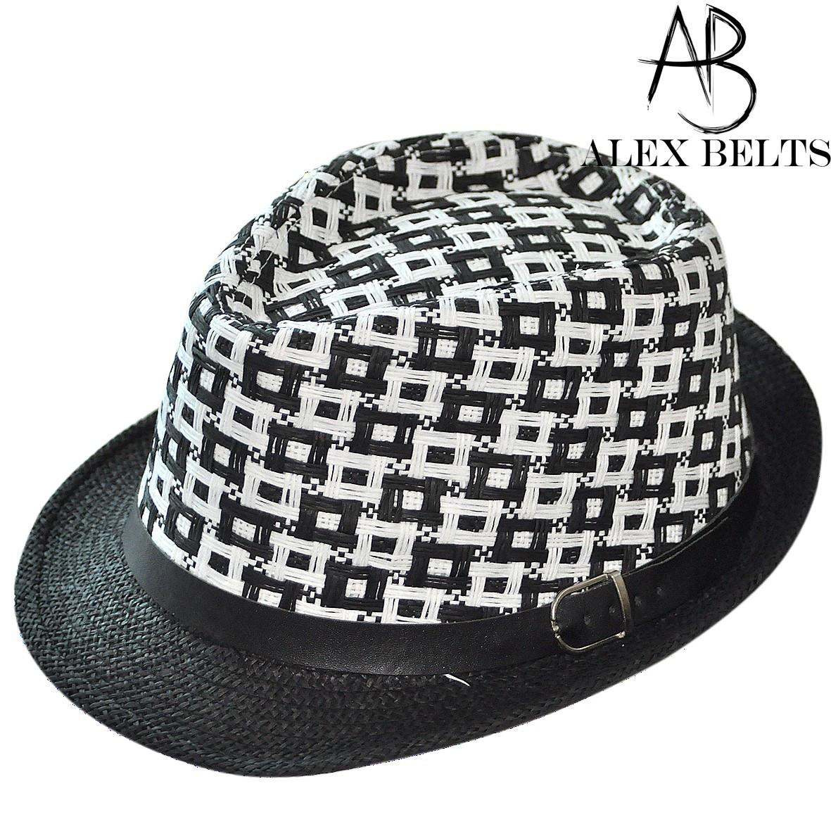 Шляпа соломенная с черным ремешком унисекс р.54-60см-купить оптом в Одессе