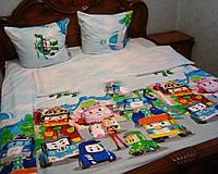 Детское постельное белье с машинами