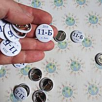 Маленькие значки для выпускников средней школы