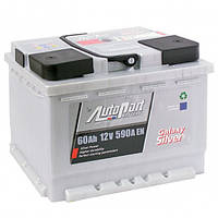 Аккумулятор автомобильный AutoPart Silver 60Ah/590A (0) R