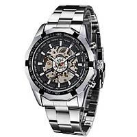 Механические мужские часы WINNER TIMI SILVER