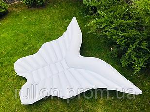 Надувной матрас-плотик, плот, белая бабочка 200х180см