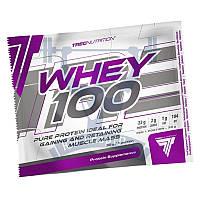 TREC nutrition Whey 100% протеин сывороточный спортивное питание пробник