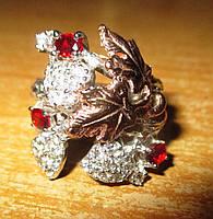 """Оригинальное кольцо """"Виноград"""" с гранатом  спессартином , размер 17,5 от студии LadyStyle.Biz, фото 1"""