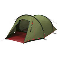 Трехместная палатка High Peak Kite 3 (Pesto/Red), фото 1