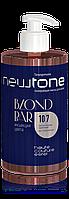 Тонуюча маска для волосся 10/7 (світлий блондин коричневий) Newtone Estel 435 мл