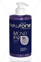 Тонирующая маска для волос 10/6 (светлый блондин фиолетовый) Newtone Estel 435 мл.