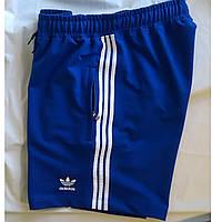 Мужские синие спортивные шорты. Шорты мужские трикотажные.  Мод. 402, фото 1