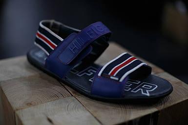 Кожаные мужские сандалии Tommi Hilfiger
