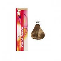 Краска для волос Wella Color Touch 7/0 блонд, фото 1