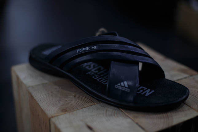 Мужские шлепки Adidas, фото 2