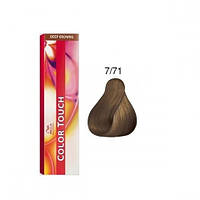Краска для волос Wella Color Touch 7/71 янтарная куница, фото 1