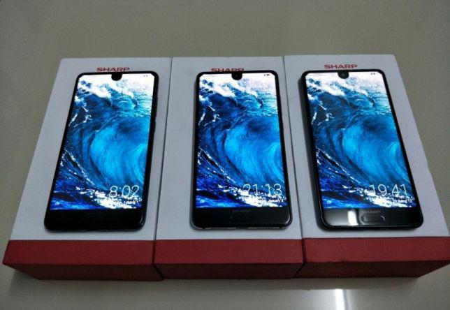 Смартфон Sharp Aquos S2 blue 5.5`\And 7\NFC\2 SIM\4/64гб/2 камеры