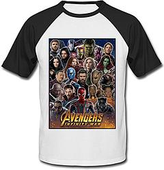 Футболка двухцветная Avengers: Infinity War