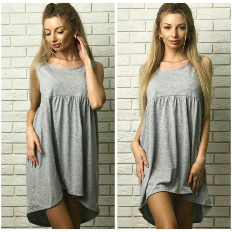 dc81aed10e2 Платье майка сарафан разлетайка свободный крой - Дом моды - женская одежда  от производителя. в