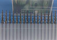 Борфреза конічна кут 30° (МХ) 3х15х3 твердосплавна