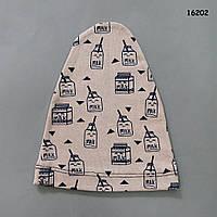 Шапочка для малыша. 36-42 см