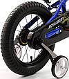 "Детский велосипед Royal Baby Freestyle 12"", синий, фото 4"