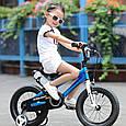 "Детский велосипед Royal Baby Freestyle 12"", синий, фото 5"