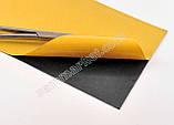 Термоскотч графитовый 1700W/mk двухсторонний 0.025mm 100 x25 карбоновый скотч графен термопрокладка, фото 3
