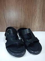 Мужские сандалии через палец из натуральной кожи , фото 2