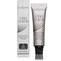 Краска для бровей и ресниц LevisSime (Левисим) №1 (черный)