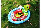 Детский надувной плотик-райдер для плавания Intex 59570 71 х 58 см, фото 2