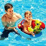 Детский надувной плотик-райдер для плавания Intex 59570 71 х 58 см, фото 3