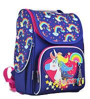 Рюкзак каркасный Yes H-11 Unicorn blue