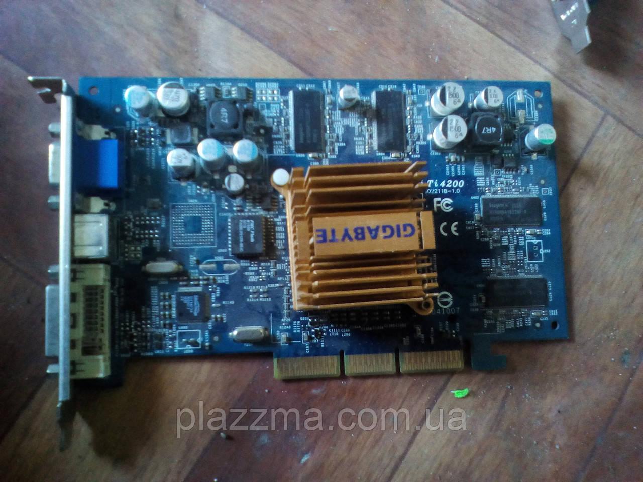 Видеокарта AGP Nvidia Geforce 4 Ti4200 64Mb 128bit