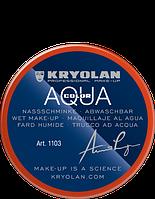 Оранжевый  аквагрим AQUACOLOR 55мл(оттенок MANDARIN) )