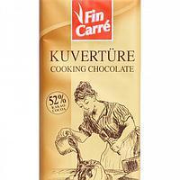 Шоколад FIN CARRE Kuverture 52% kakao 200г