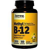 Витамины  METHYL B-12 1000 mcg 100 лимонных леденцов