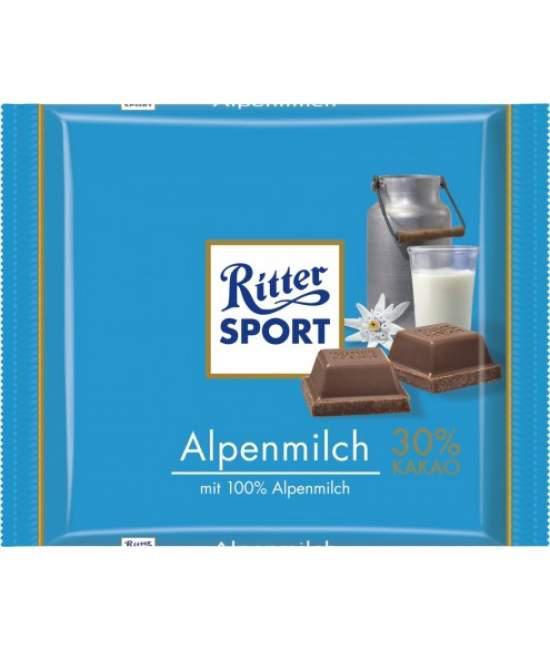 Шоколад RITTER SPORT Alpenmilch 100г