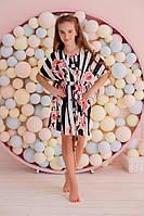 Пляжная накидка на девочку шелк армани  кл351, фото 1
