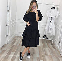 Платье женское с воланами , фото 1