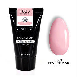 Полигель VENALISA №1803 UV/LED 45 г, tender pink