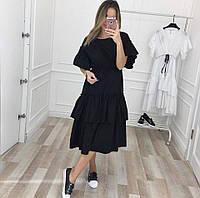 Платье женское с воланами  кл414, фото 1