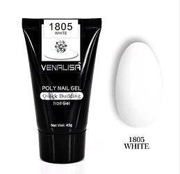 Полигель VENALISA №1805 UV/LED 45 г, white