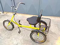 """Трехколесный велосипед для взрослых """"Атлет с корзинкой"""""""