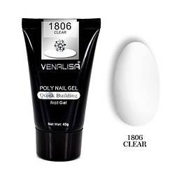 Полигель VENALISA №1806 UV/LED 45 г, clear