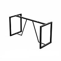 Основание стола металлическое Лофт Loft. База из металла. Каркас. Подстолье. Опора. Ноги