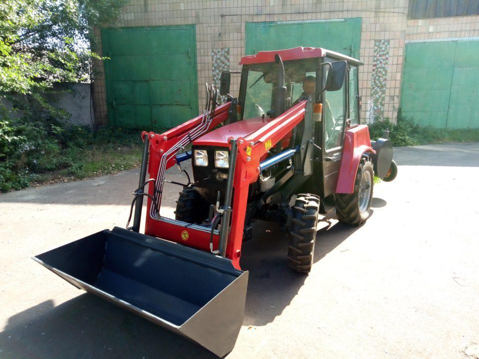Фронтальный погрузчик для тракторов от 25 л.с., МТЗ, DongFeng, Foton, погрузочное навесное оборудование