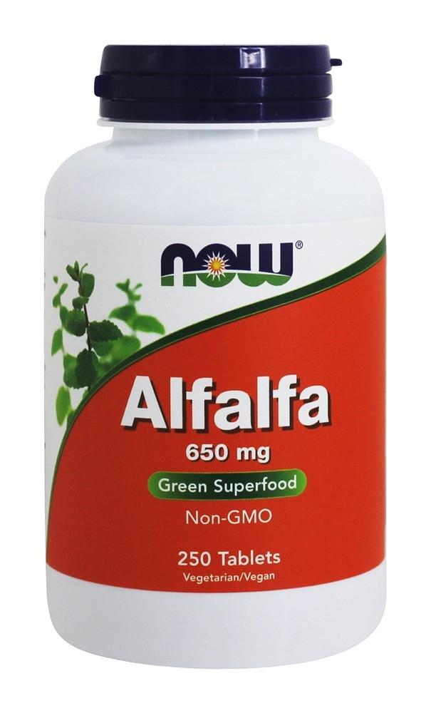 Спецдобавка ALFALFA 650mg 250 таблеток до 05/20года
