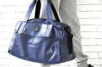 Спортивная сумка Jordan синего цвета  (люкс копия)
