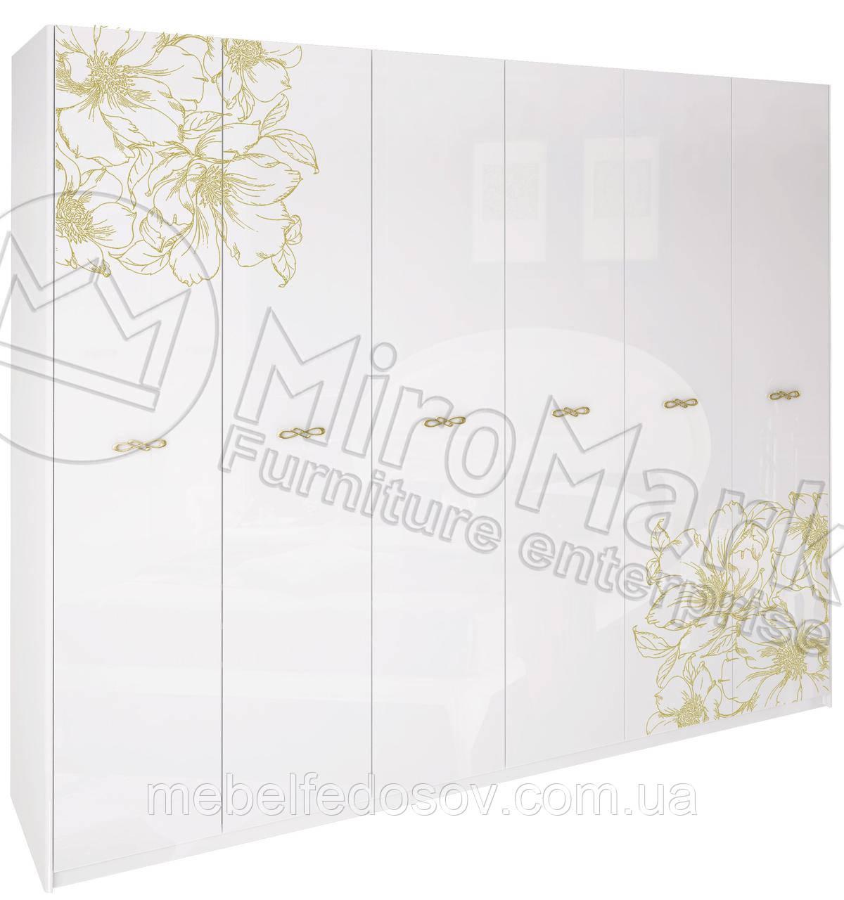 Шкаф 6Д Пиония  (Миро Марк/MiroMark)