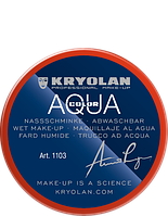 Оранжевый  аквагрим AQUACOLOR 55мл(оттенок 288)