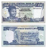 Свазіленд / Swaziland 10 emalangeni 2006 Pick 29c UNC