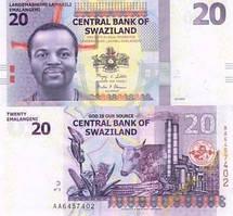Свазіленд / Swaziland 20 emalangeni 2010 P 37 UNC